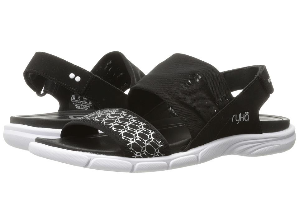 Ryka - Rodanthe (Black/Chrome Silver) Women's Shoes