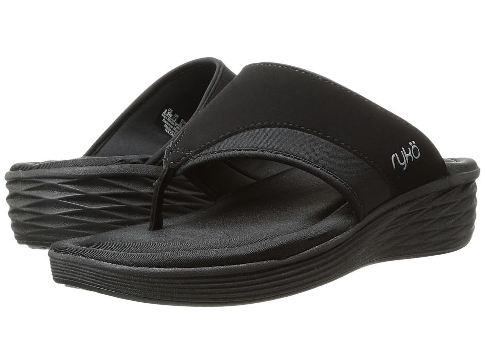 Ryka - Natalia (Black/Frost Grey/White) Women's Shoes