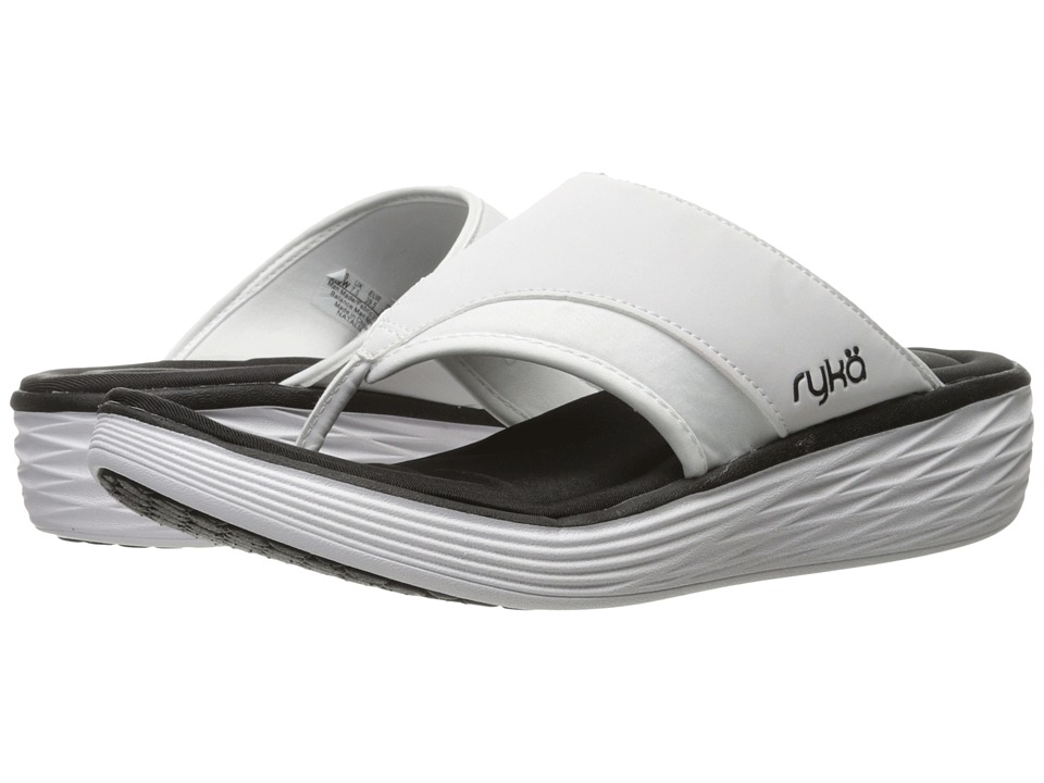 Ryka - Natalia (White/Black) Women's Shoes