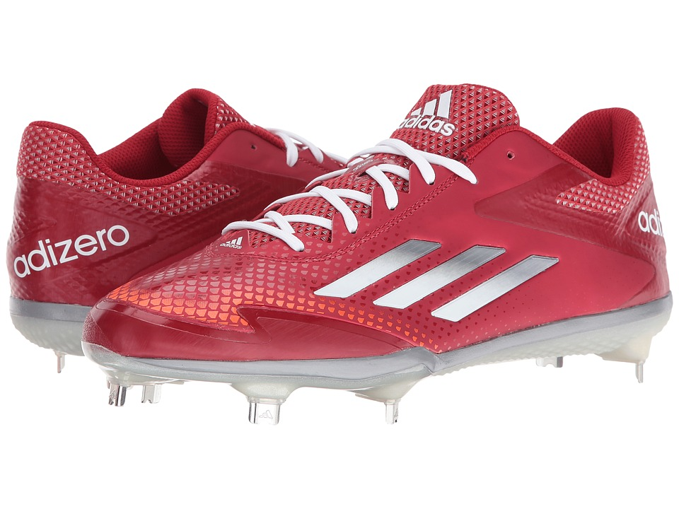 adidas - Adizero Afterburner 2.0 (Power Red/Tech Grey/White) Men's Shoes
