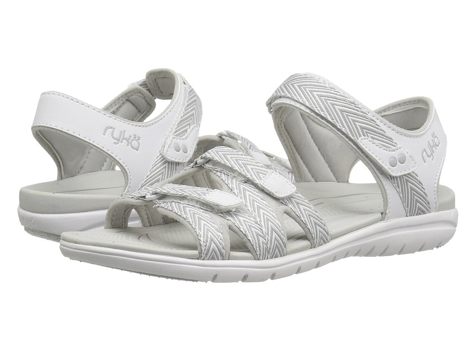 Ryka - Savannah (White/Summer Grey) Women's Shoes