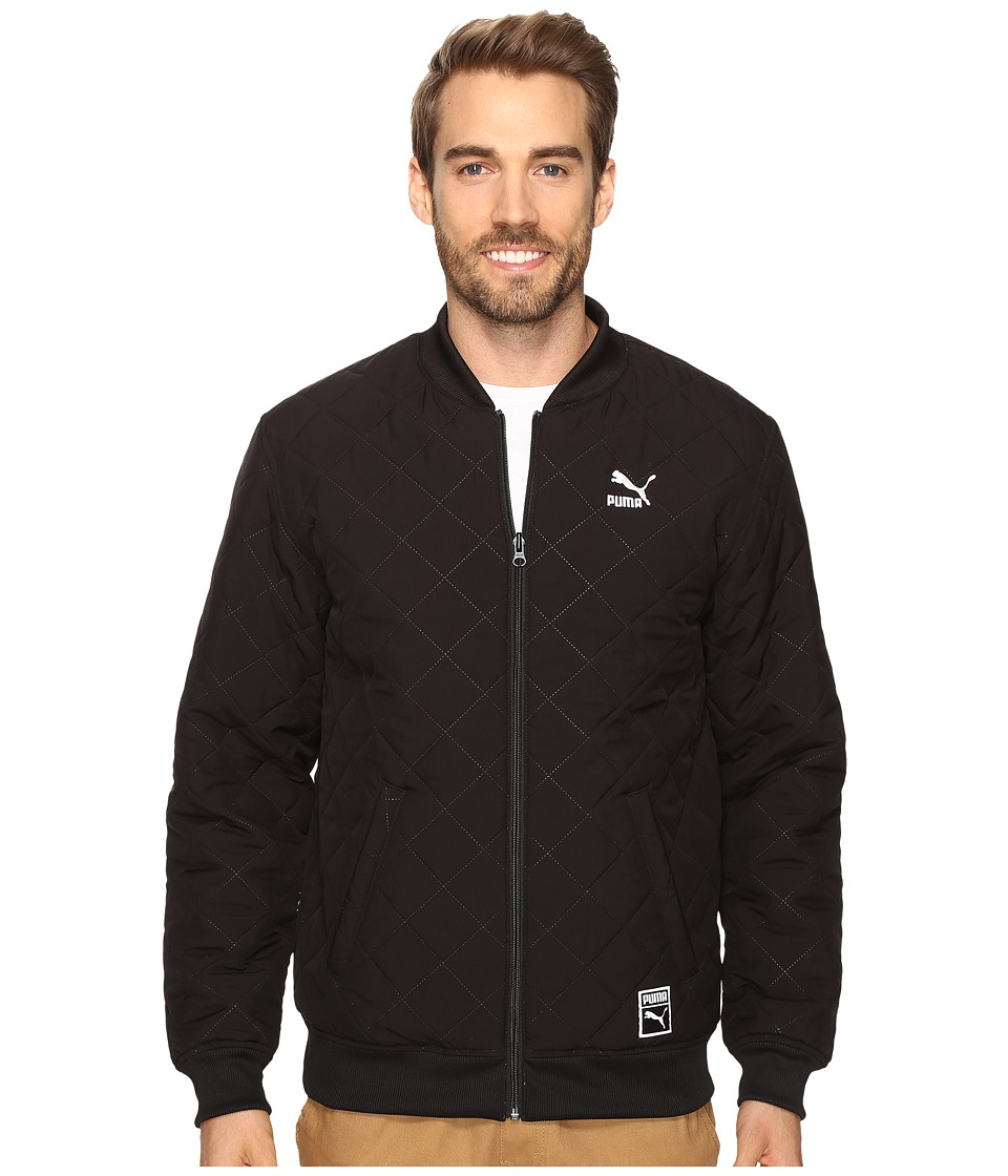 PUMA - Reversible Bomber Jacket (PUMA Black) Men's Coat