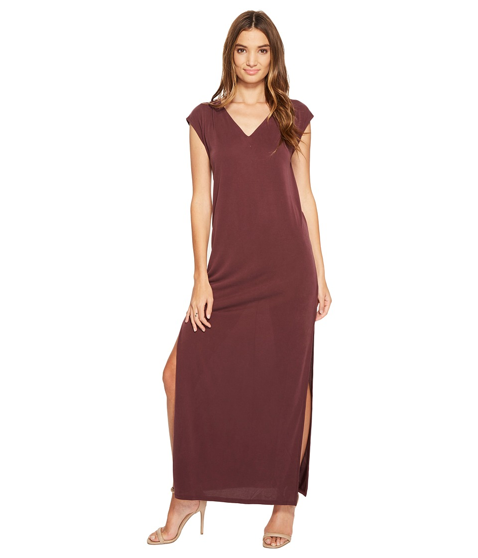Culture Phit - Lula Sleeveless Maxi Dress (Marsala) Women's Dress