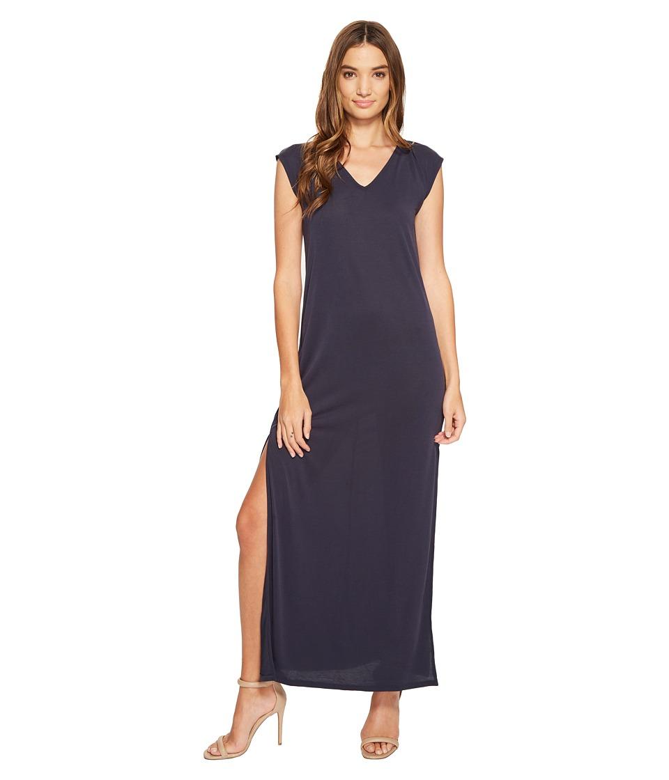 Culture Phit - Lula Sleeveless Maxi Dress (Navy) Women's Dress