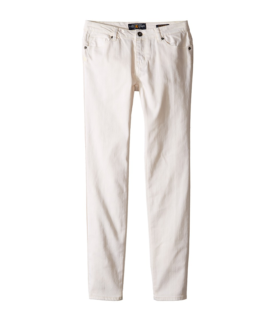 Lucky Brand Kids - Washed Stretch Zoe Jeans in Pristine (Big Kids) (Pristine) Girl's Jeans