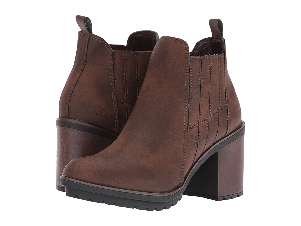 Rocket Dog - Raegan (Brown Graham) Women's Pull-on Boots