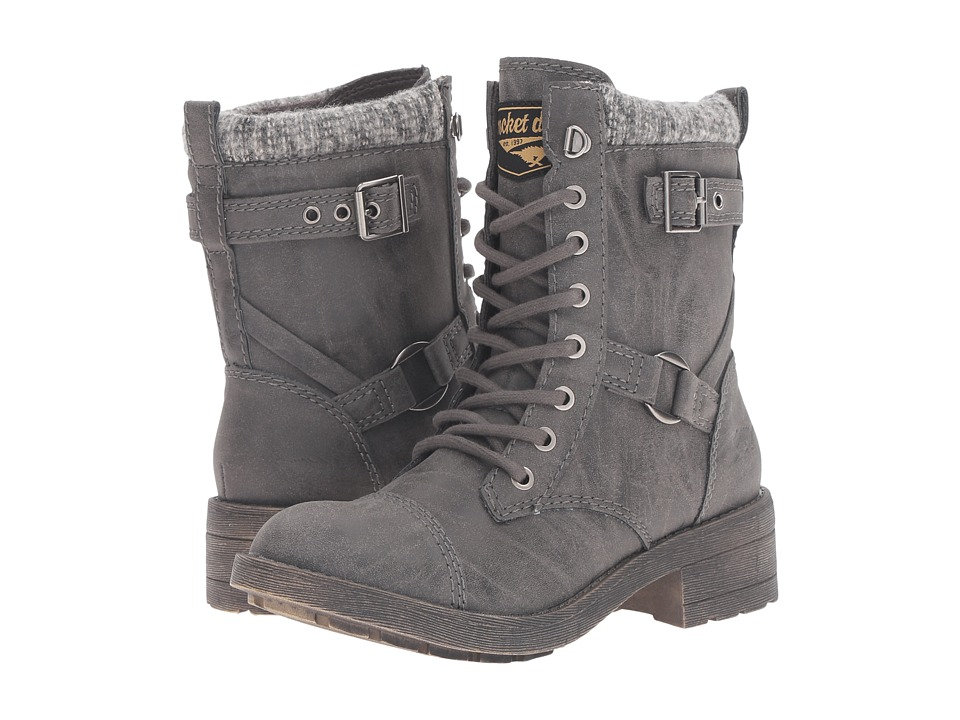 Rocket Dog - Thunder (Grey Harper) Women's Lace-up Boots