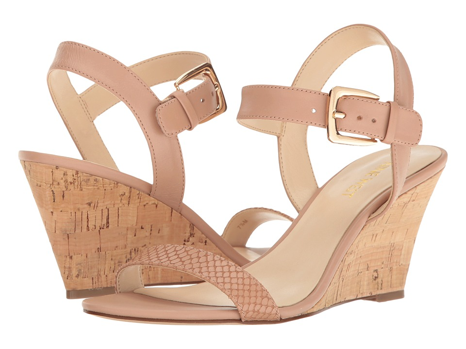 Nine West - Kiani (Natural/Natural Leather) Women's Shoes