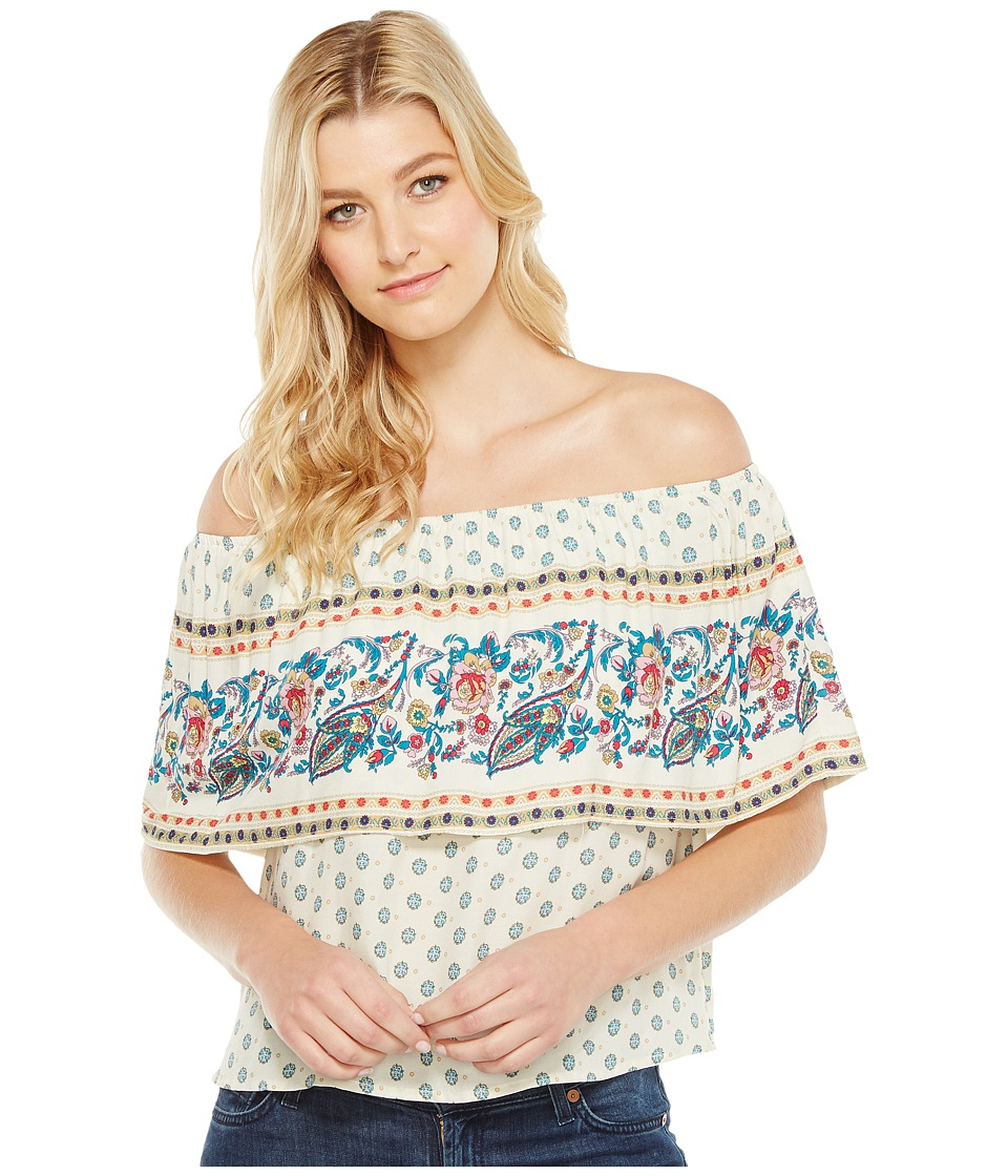 Brigitte Bailey - Ishani Off the Shoulder Top (Vanilla) Women's Clothing