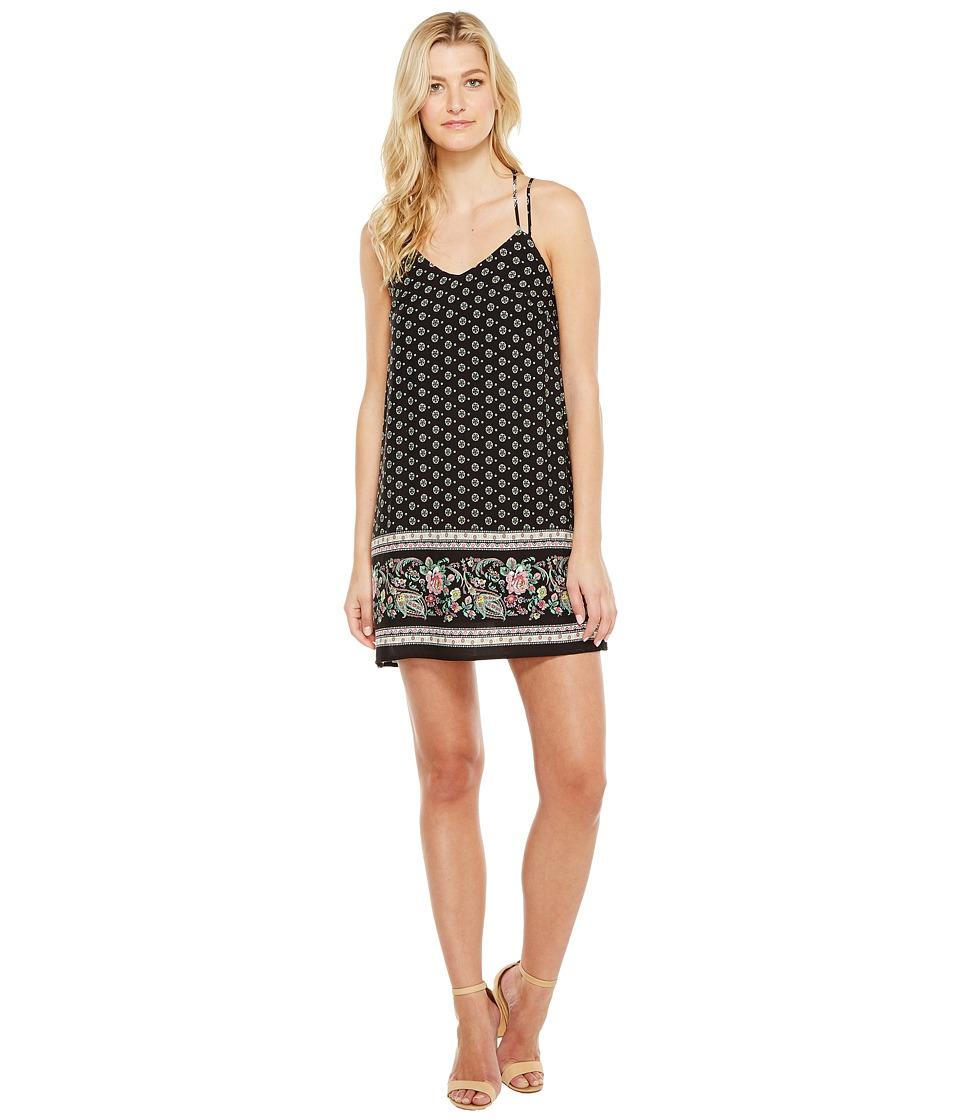Brigitte Bailey - Kimika Spaghetti Strap Dress (Black) Women's Dress