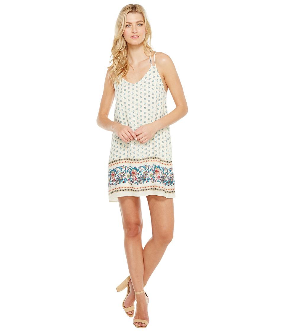 Brigitte Bailey - Kimika Spaghetti Strap Dress (Vanilla) Women's Dress