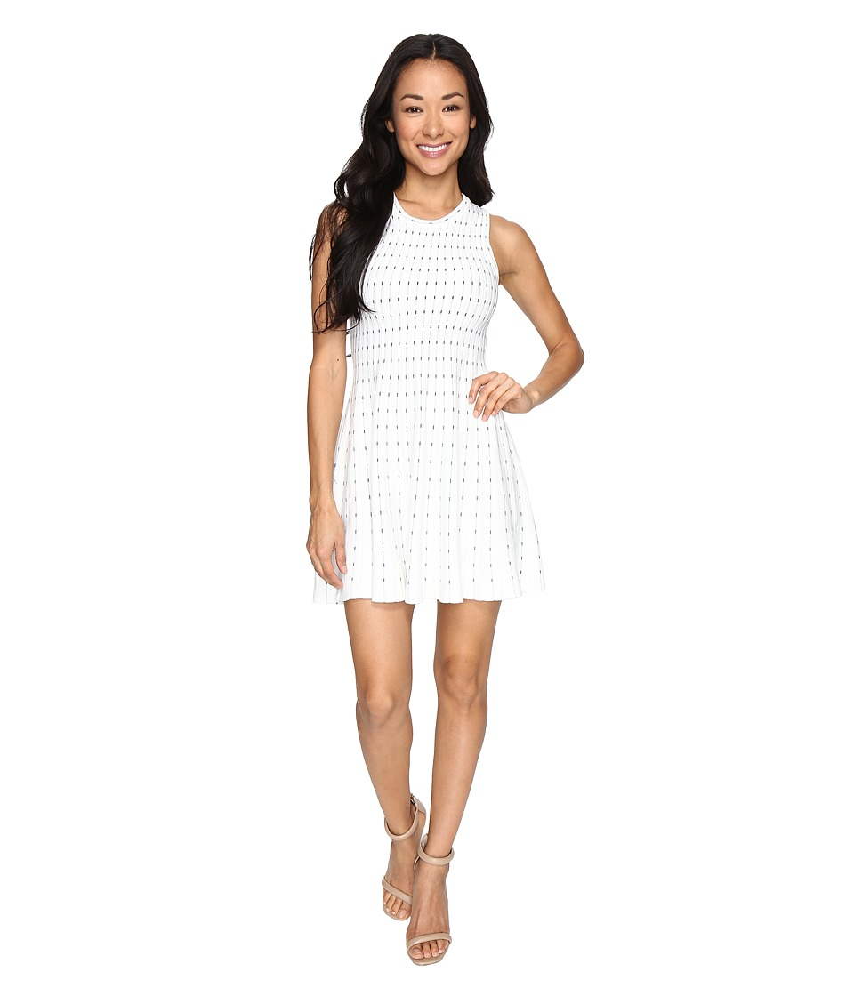 Brigitte Bailey - Kai Sleeveless Flared Dress (White) Women's Dress