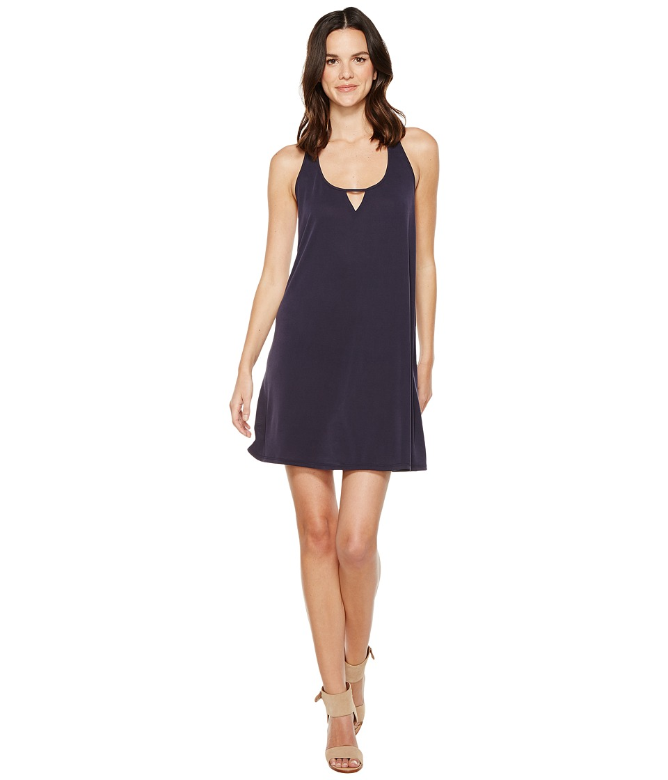 Brigitte Bailey - Mika Sleeveless Dress with Keyhole (Navy) Women's Dress