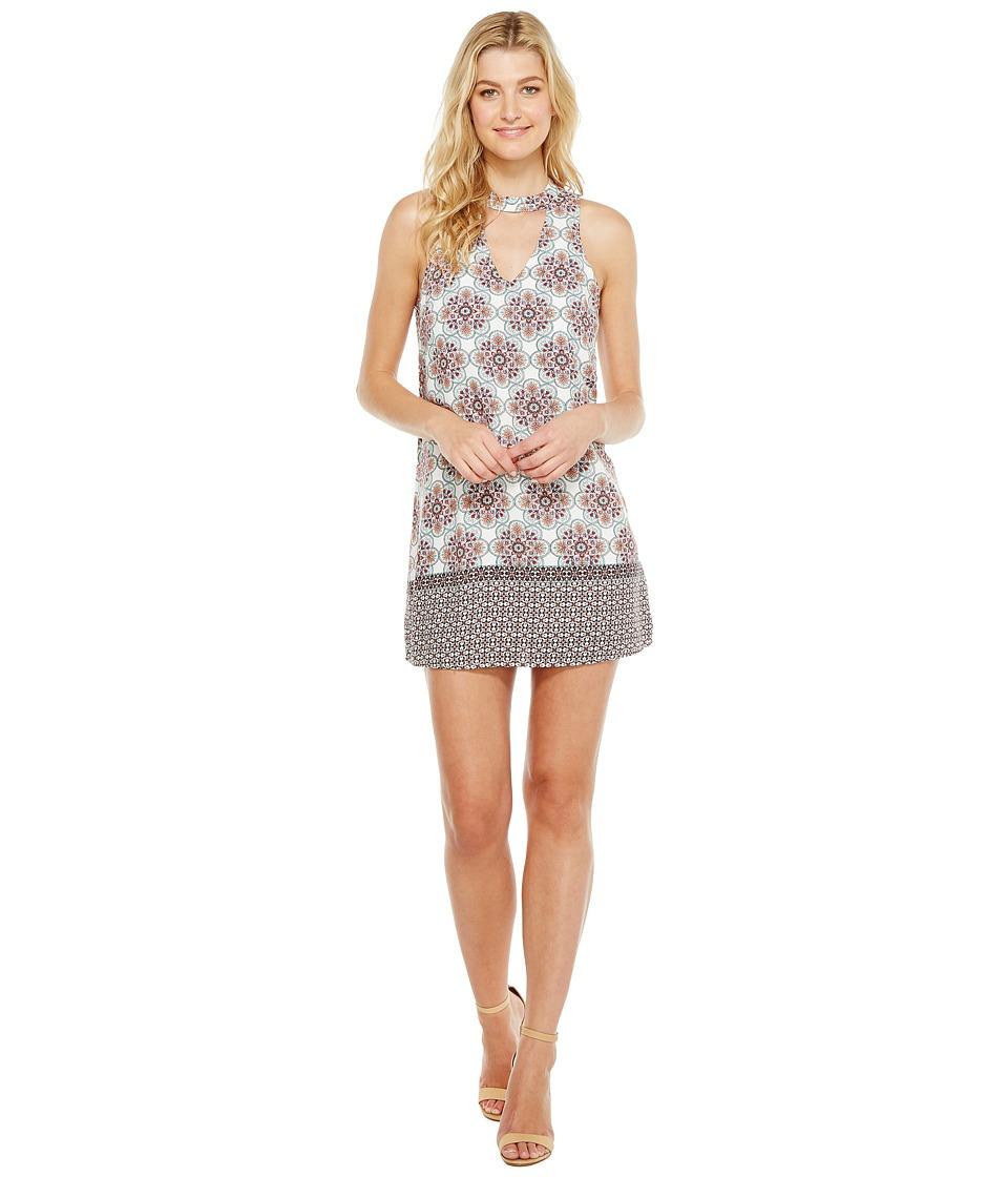 Brigitte Bailey - Emthe Sleeveless Keyhole Dress (Salmon) Women's Dress