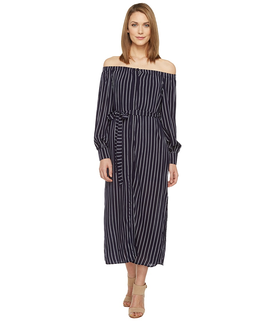 Brigitte Bailey - Lane Off the Shoulder Dress (Navy) Women's Dress
