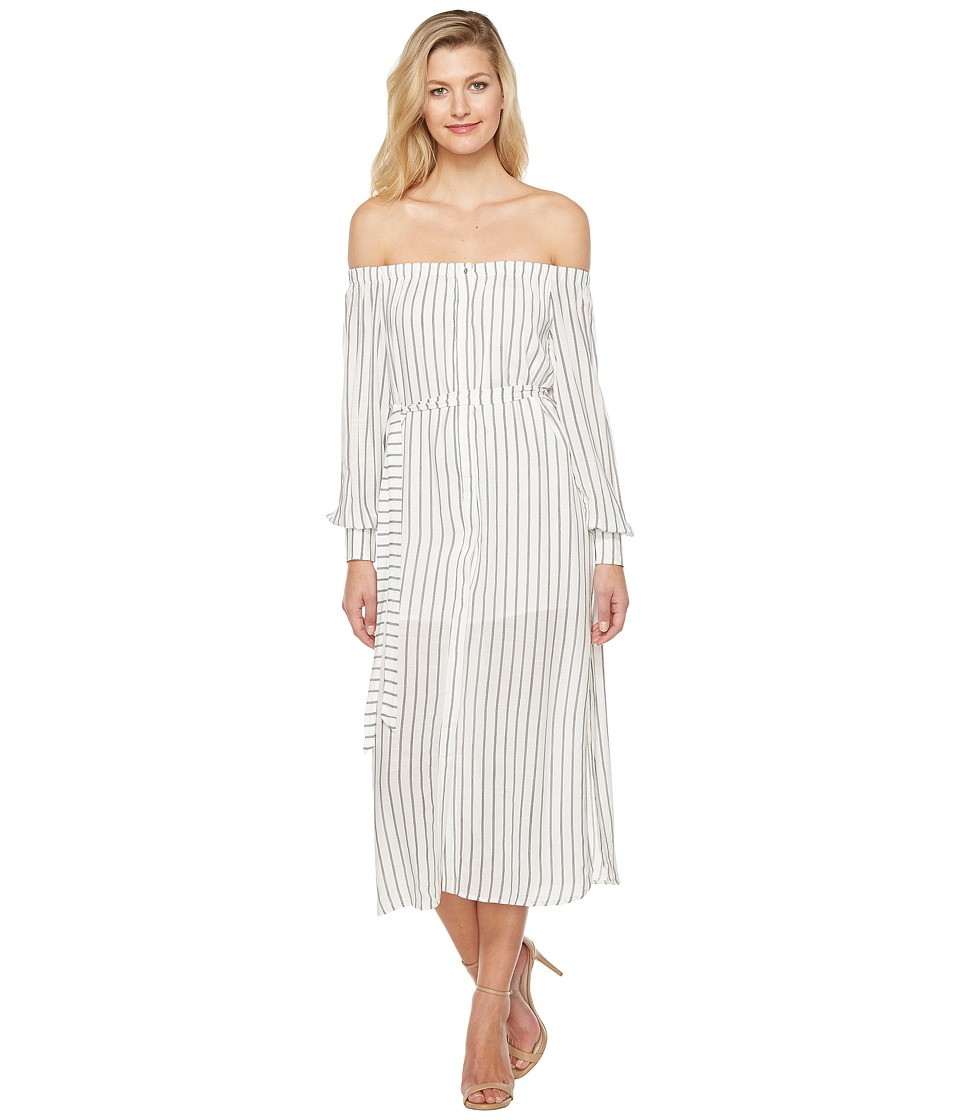 Brigitte Bailey - Lane Off the Shoulder Dress (White) Women's Dress