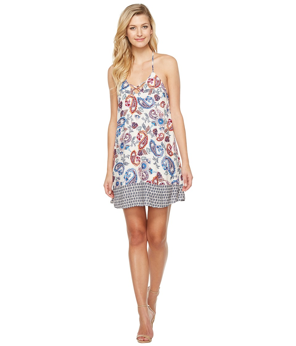 Brigitte Bailey - Greer Spaghetti Strap Printed Dress (Multi) Women's Dress