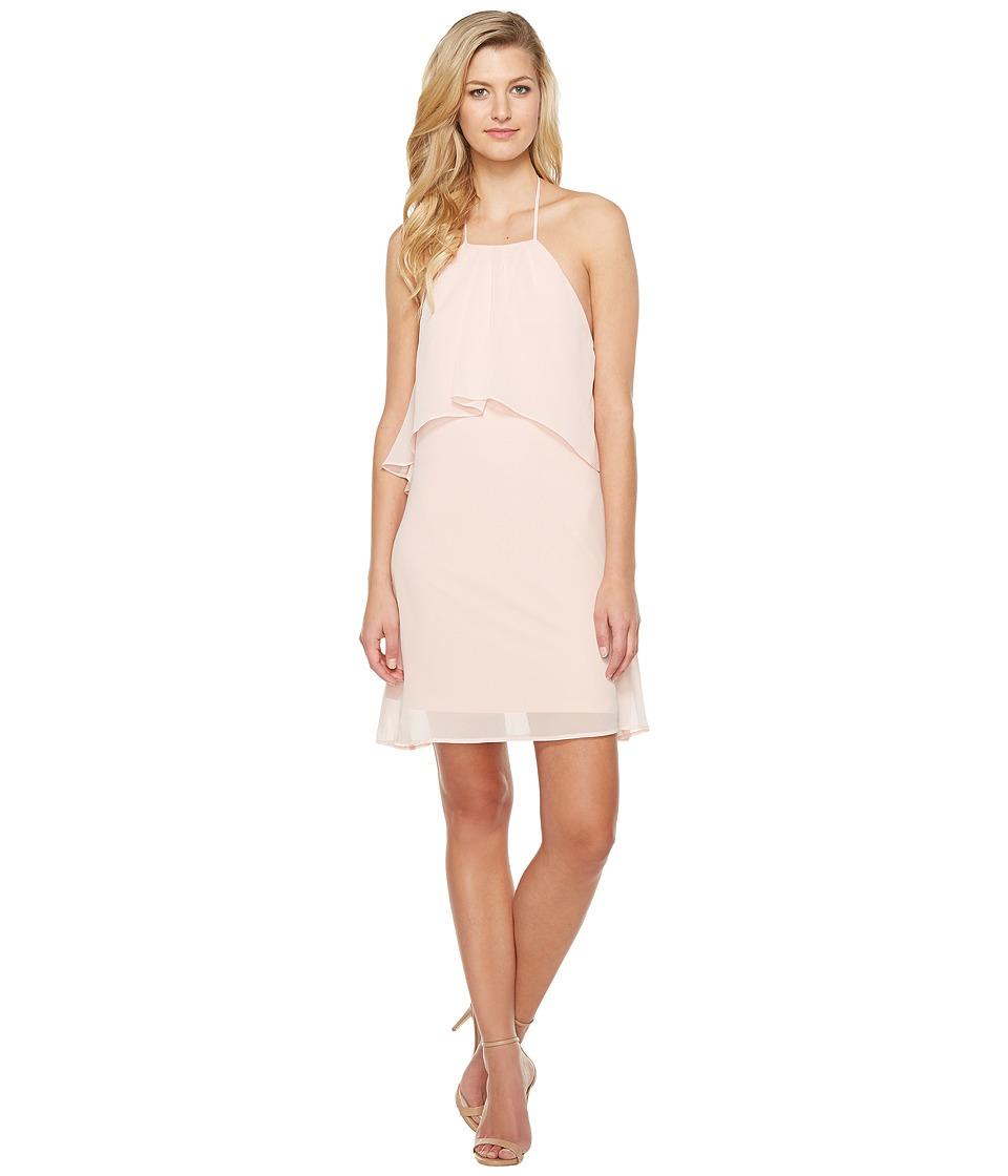 Brigitte Bailey - Kira Spaghetti Strap Layered Dress (Blush) Women's Dress