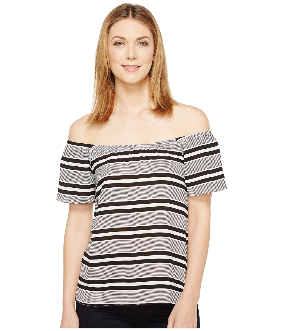 Brigitte Bailey - Banks Off the Shoulder Top (Black) Women's Clothing