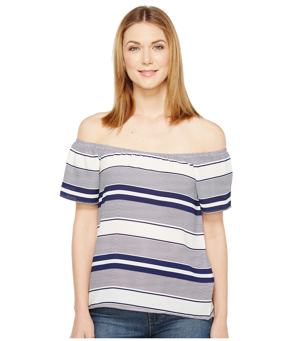 Brigitte Bailey - Banks Off the Shoulder Top (Navy) Women's Clothing