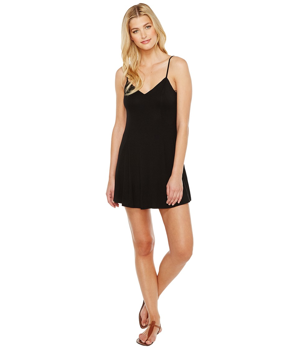 Brigitte Bailey - Aby Spaghetti Strap Dress (Black) Women's Dress