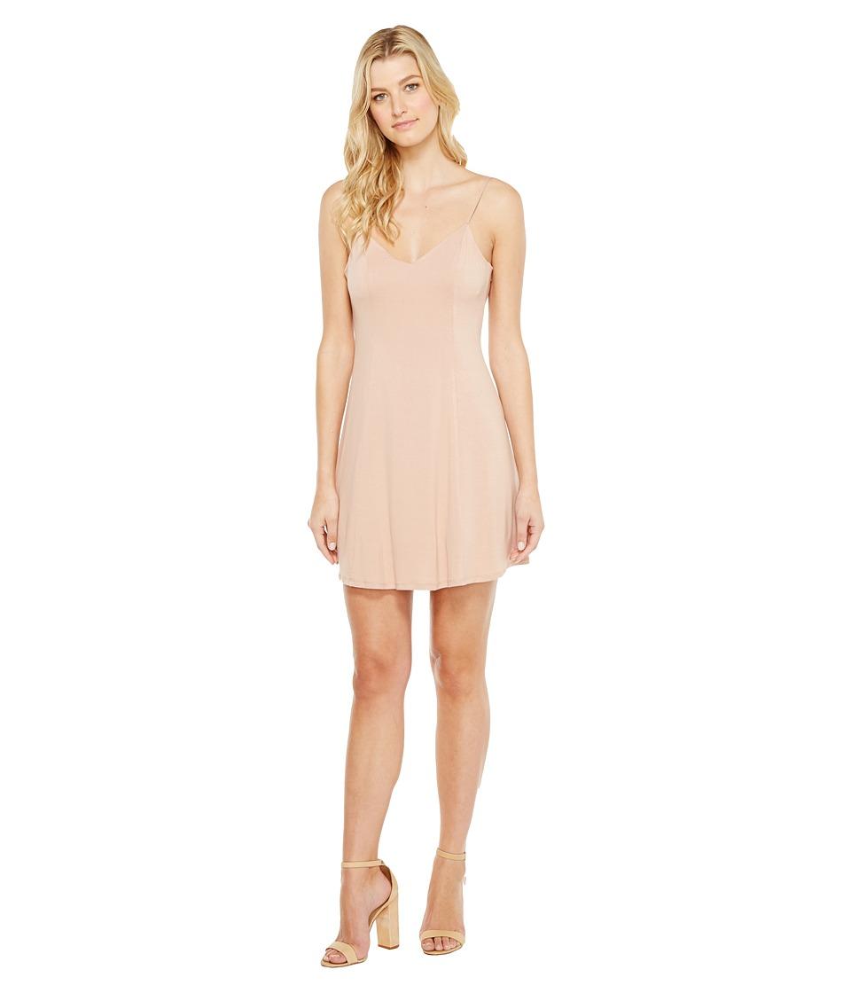 Brigitte Bailey - Aby Spaghetti Strap Dress (Salmon) Women's Dress