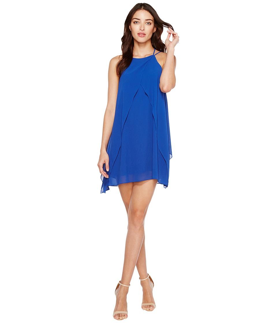 Brigitte Bailey - Cyndel Spaghetti Strap Ruffle Dress (Royal) Women's Dress