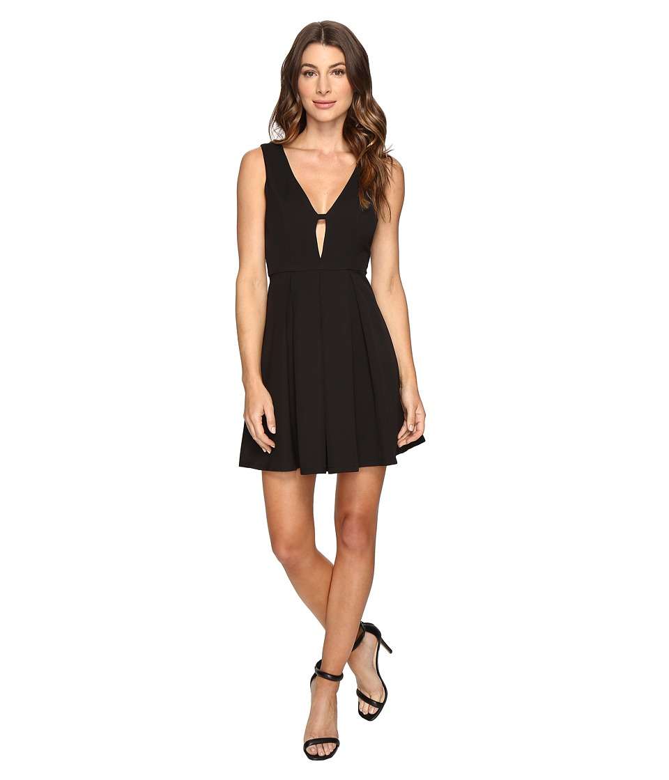 Brigitte Bailey - Nia Pleated Tank Dress (Black) Women's Dress