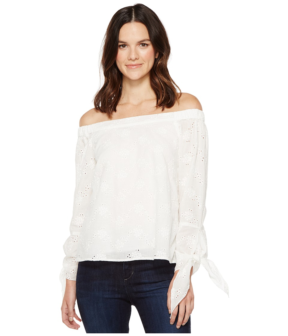 Brigitte Bailey - Kalene Off the Shoulder Top (Off-White) Women's Clothing