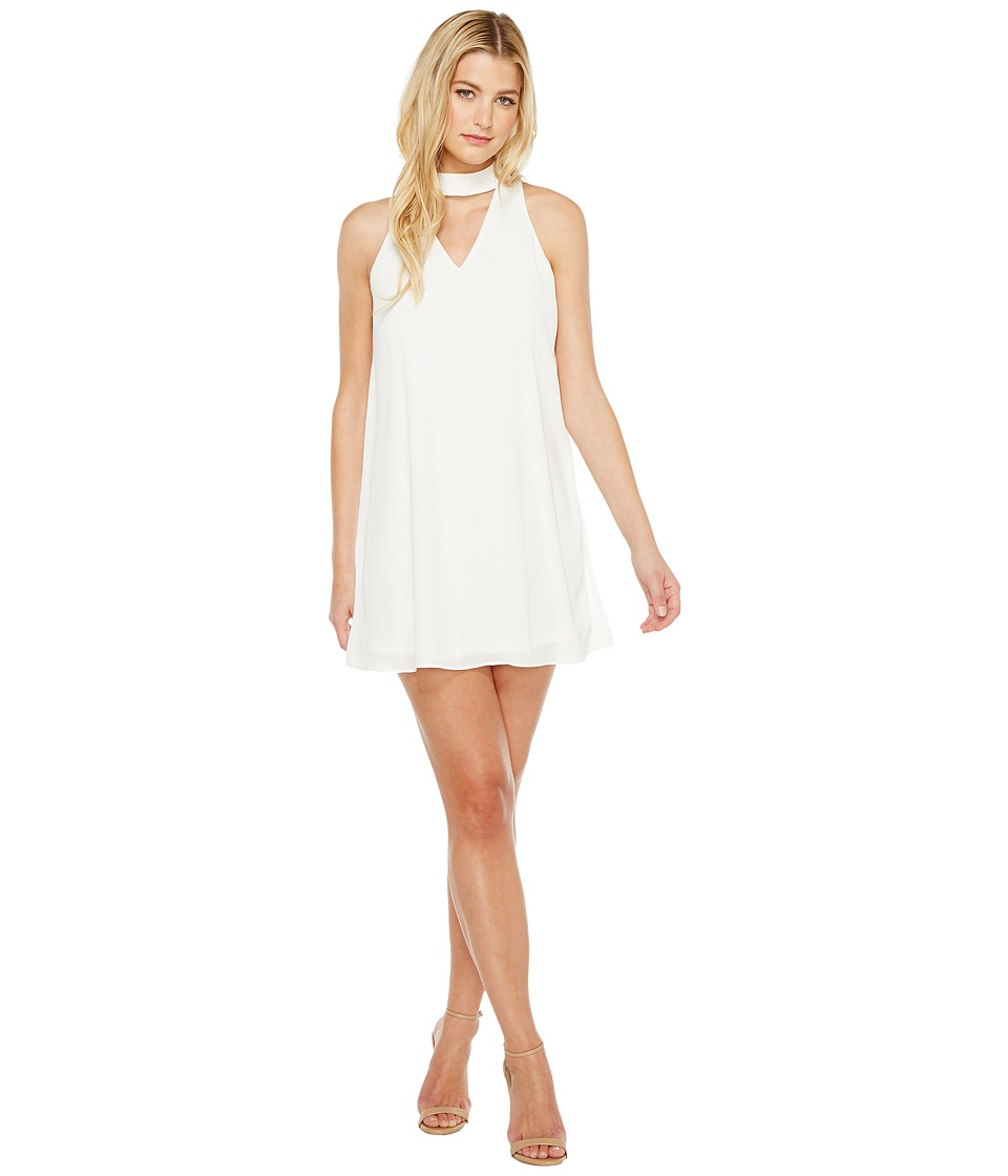 Brigitte Bailey - Kerianne Sleeveless Keyhole Dress (Off-White) Women's Dress