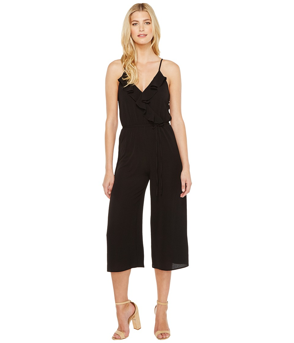 Brigitte Bailey - Kadin Ruffle Jumper (Black) Women's Jumpsuit & Rompers One Piece