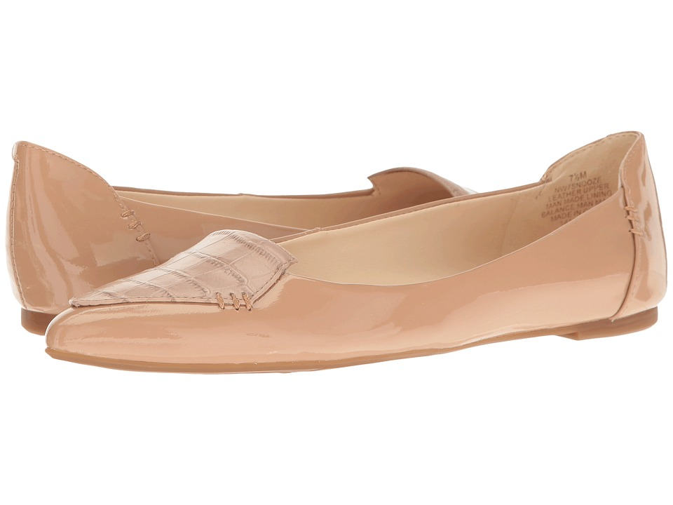 Nine West - Snooze (Natural/Natural Patent) Women's Shoes