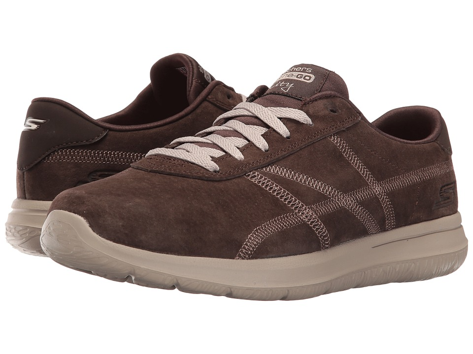 SKECHERS Performance - On The Go - City Posh (Chocolate) Women's Shoes