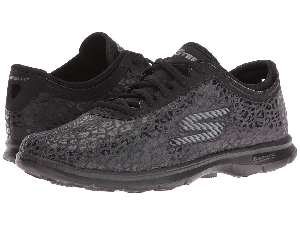 SKECHERS Performance - Go Step - Wild (Black) Women's Shoes