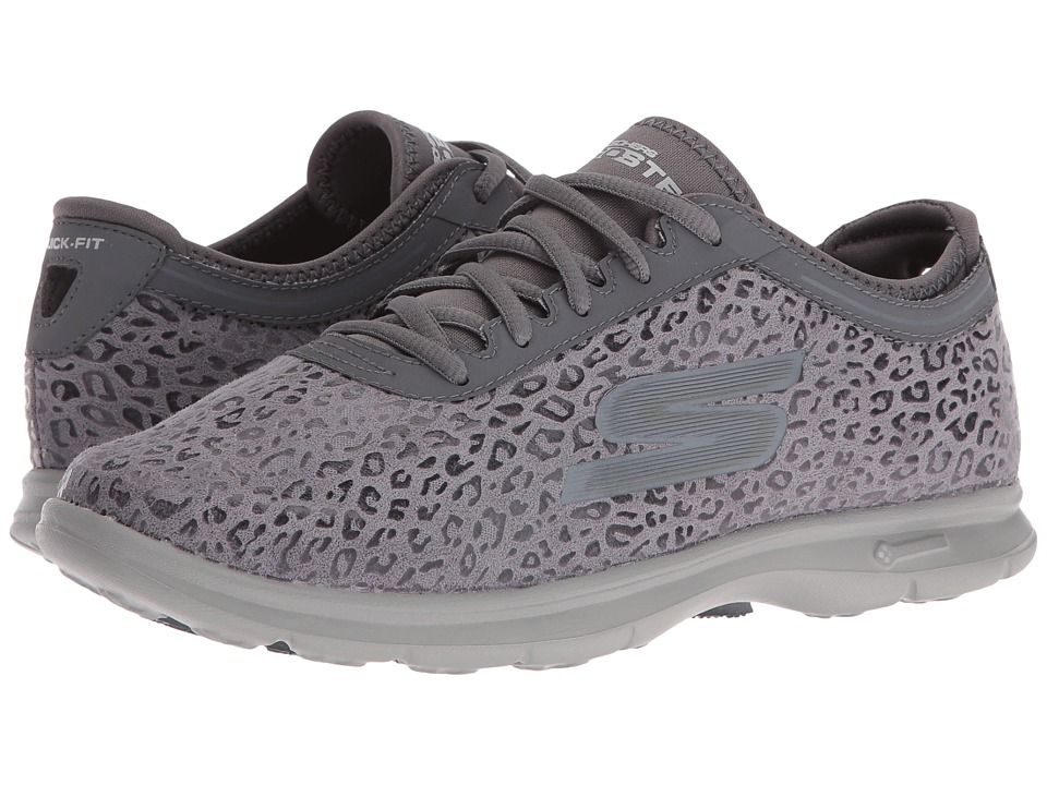 SKECHERS Performance Go Step Wild (Charcoal) Women