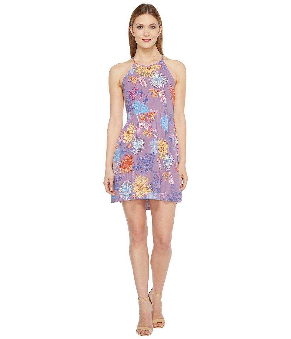 Brigitte Bailey - Shona Spaghetti Strap Flare Dress (Purple) Women's Dress