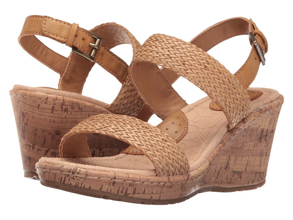 b.o.c. - Cate (Natural/Natural) Women's Shoes