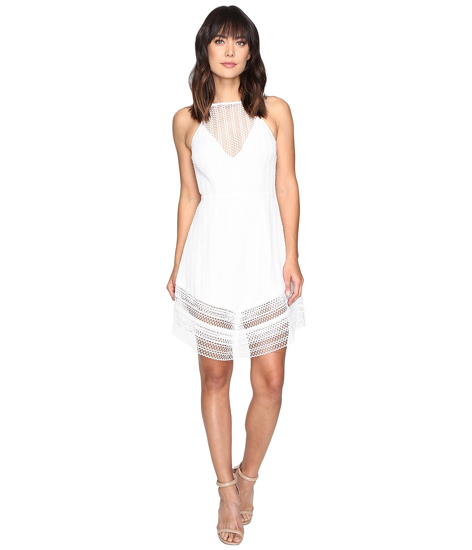 KEEPSAKE THE LABEL - All Night Lace Mini Dress (Ivory) Women's Dress