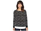 Calvin Klein Striped Twofer Long Sleeve Sweater