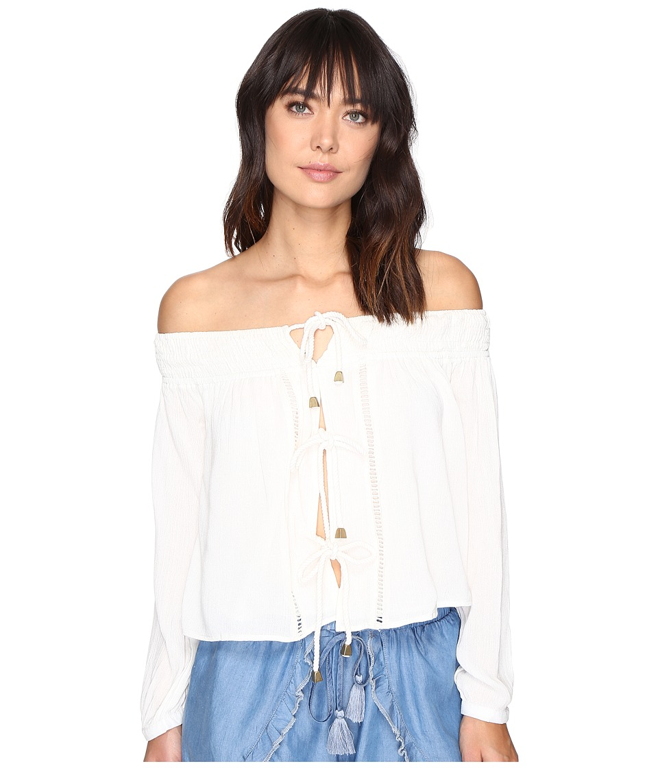 Lovers + Friends - Josette Top (Ivory) Women's Clothing