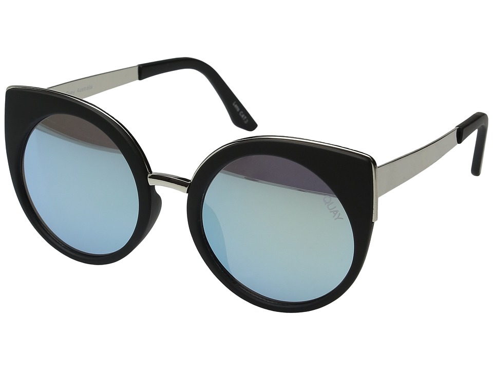 QUAY AUSTRALIA - Last Dance (Black/Mint) Fashion Sunglasses