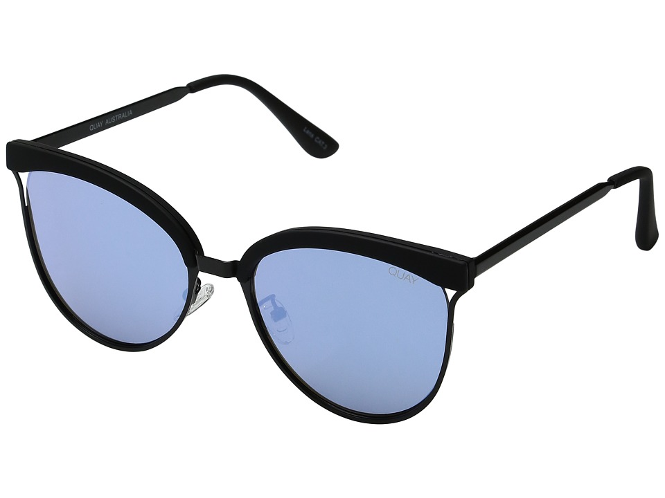 QUAY AUSTRALIA - Stardust (Black/Blue) Fashion Sunglasses