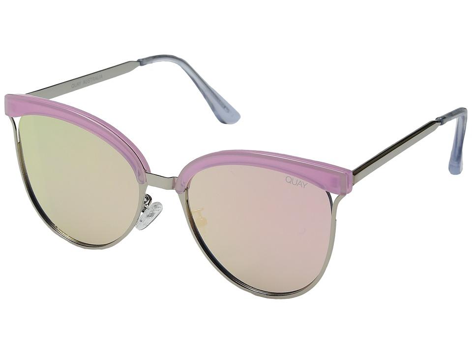 QUAY AUSTRALIA - Stardust (Pink/Pink) Fashion Sunglasses