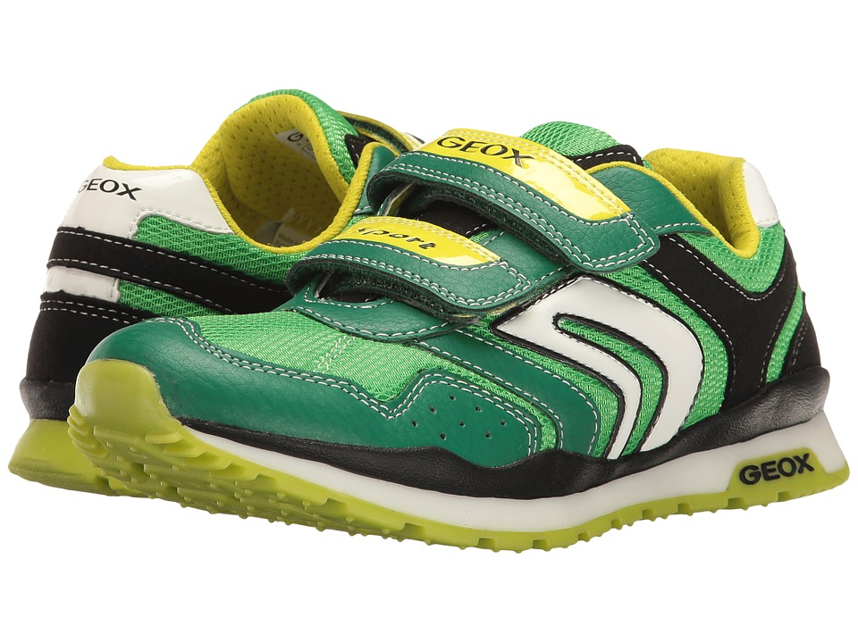 Geox Kids - Jr Pavel Boy 16 (Big Kid) (Green/Lime) Boy's Shoes