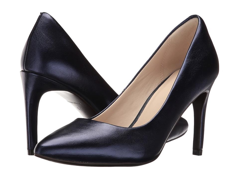 Cole Haan - Amela Grand Pump 85mm (Blazer Blue Metallic) Women's Shoes