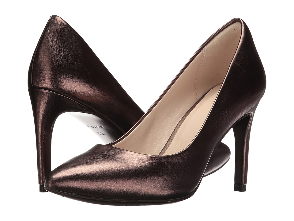Cole Haan Amela Grand Pump 85mm (Bronze Metallic Nappa) Women