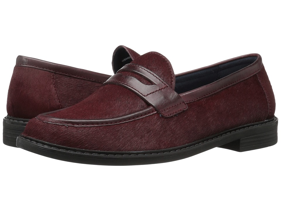 Cole Haan - Pinch Campus Penny (Dark Red/Twine Patent Haircalf Leather) Women's Shoes
