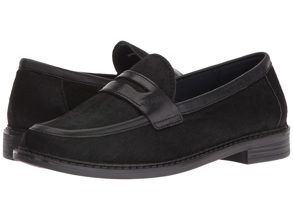 Cole Haan - Pinch Campus Penny (Black Haircalf Leather) Women's Shoes
