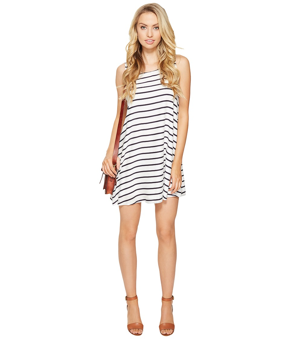 BB Dakota - Shaye Striped Shift Dress (Navy) Women's Dress
