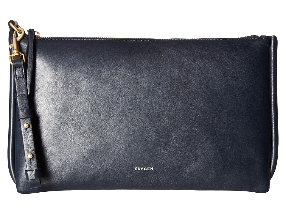 Skagen - Anesa Clutch (Ink) Clutch Handbags
